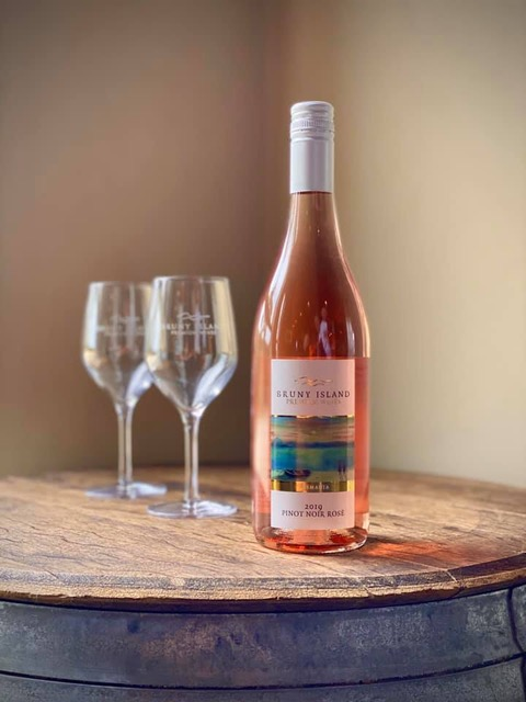 Rose wine Bruny isl