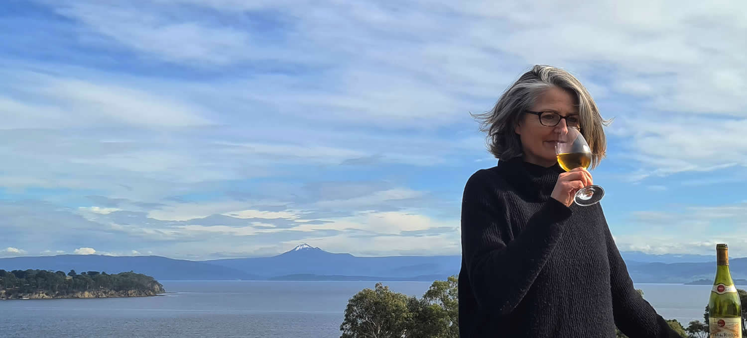 bruny island wine discovery with nathalie amey